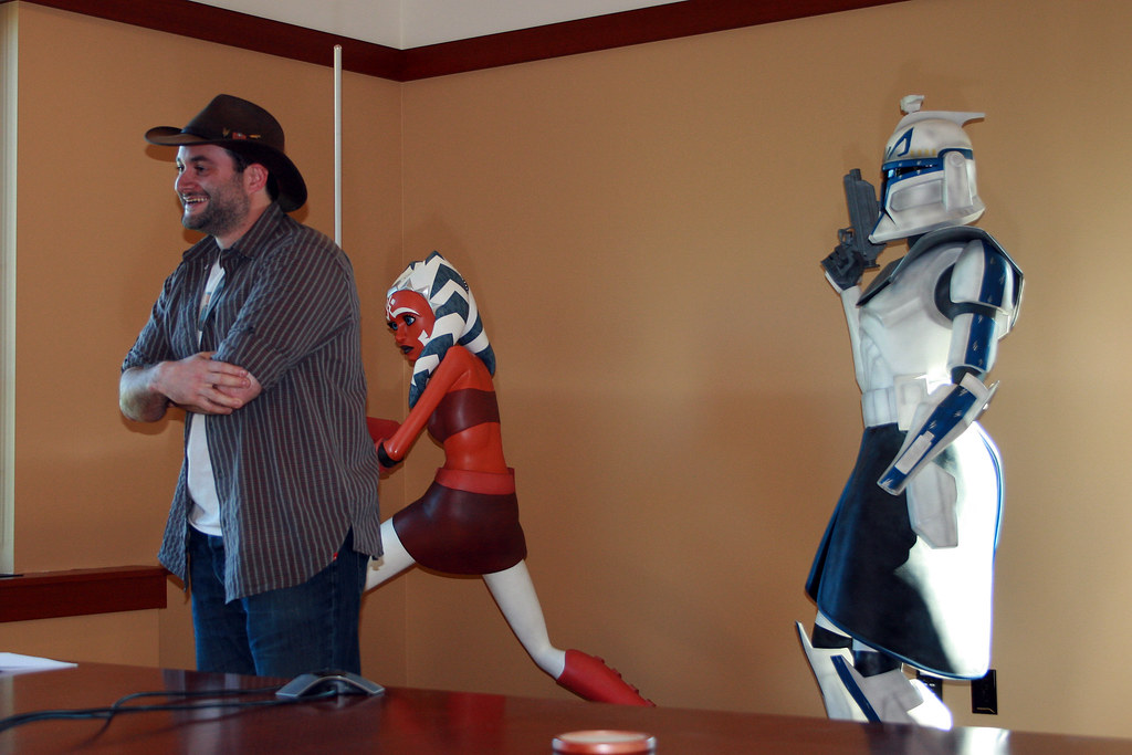 Dave Filoni Video Cast