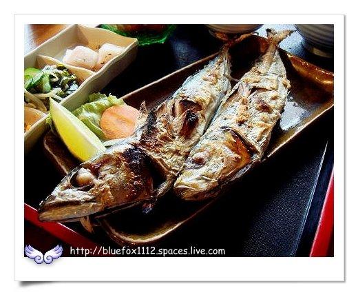 090308金山塔帕笠屋12_烤鮮魚定食-烤鯖魚