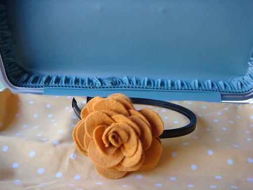 Rose Marigold headband