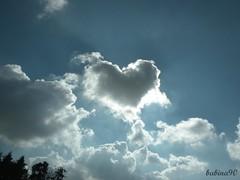 how is it possibile??i see hearts everywhere!!! (Barbara Franceschini ) Tags: light sky sun strange clouds highway nuvole heart cielo sole cuore 2009 luce autostrada nikonp80 barbarafranceschini