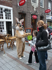 Happy Easter weekend for all my Flickr friends (Franc Le Blanc) Tags: easter lumix candid panasonic streetphoto shertogenbosch pasen paashaas dmcfz18