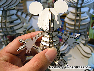 Cardboard Mickey Mouse