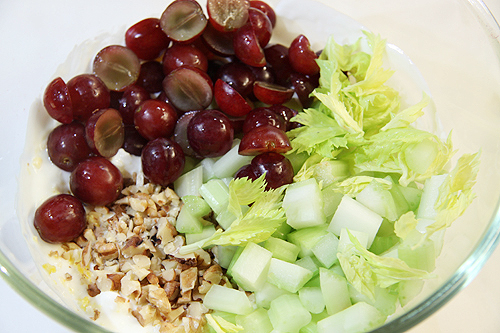 Waldorf salad (華爾道夫沙拉)-090416