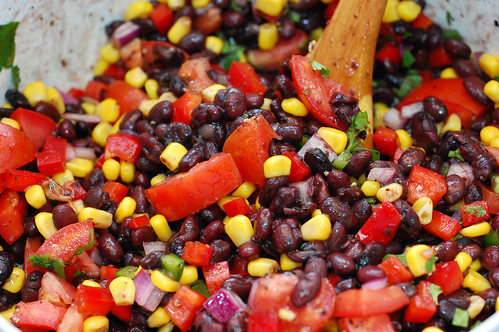 Black Bean Spring Salad