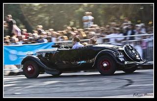 Mini Rally en Palermo con Loeb