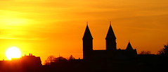 Sunset over Cathedral of Viborg/Sonedgang over Viborg Domkirke 1 (klauzito) Tags: church kirke domkirke viborg cathdral