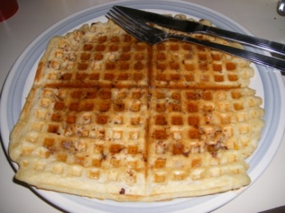 gale gand pecan waffle