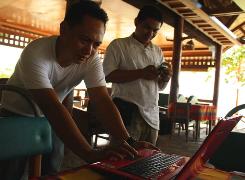 Testing Smart's HSPA network in Siquijor, Siquijor