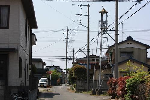 石田の火の見櫓