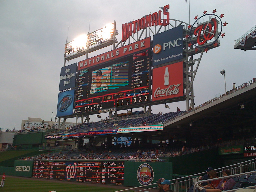 Nats vs Marlins 19 April 2009