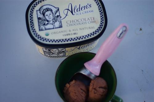 Alden's ice cream