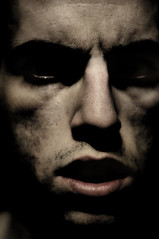 Bad Vision (noamgalai) Tags: lighting portrait selfportrait face mystery self dark photo head picture dramatic anger photograph killer horror scare    noamg noamgalai