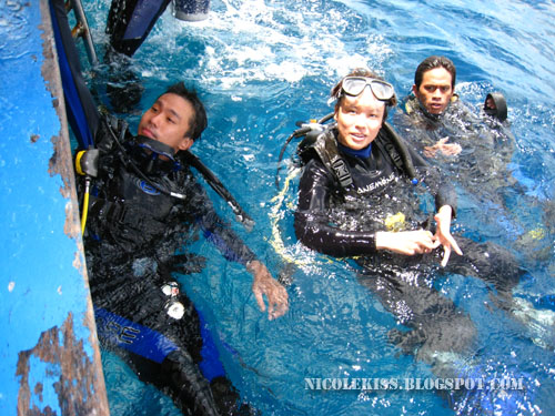 me and erik and dive leader