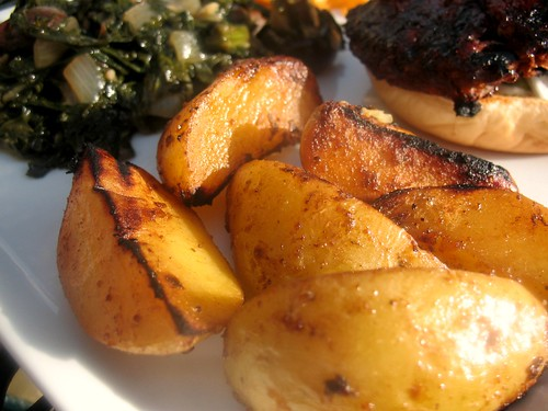 Sweet & Tangy Golden Potatoes