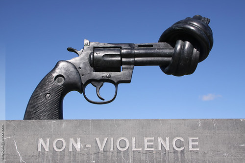 ahimsa as non violence in the Define nonviolence: abstention from violence as a matter of principle also : the principle of such abstention — nonviolence in a sentence.