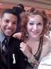 Wilson Cruz and Calpernia Addams at the 2009 GLAAD Media Awards