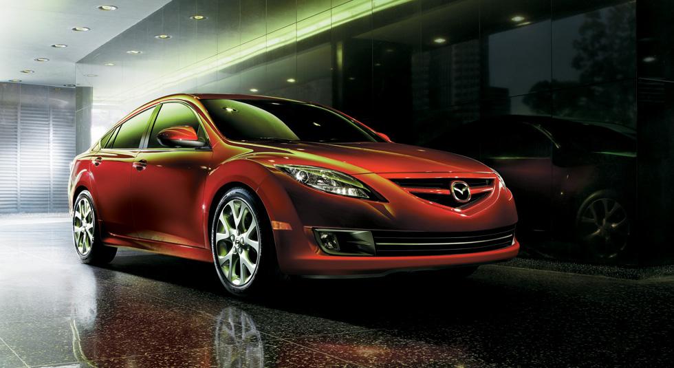 aggressive front wheel arches Mazda 6