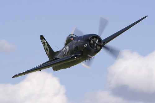 Warbird picture - Duxford Flying Legends - F8F Bearcat