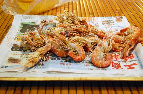 roasted shrimp, taichung