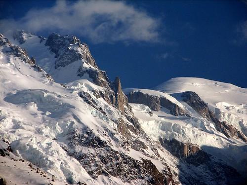Carte postale du massif du Mont Blanc