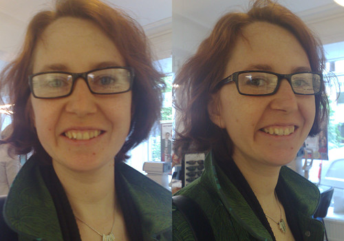 Help me pick my new glasses. These are No 7.