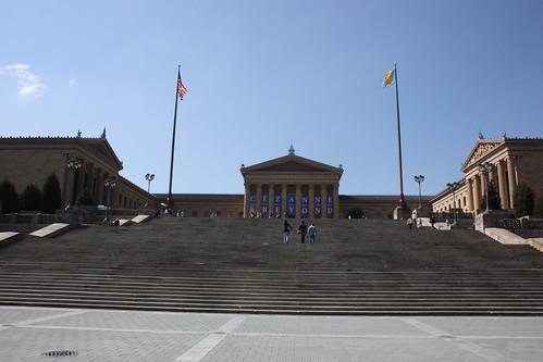 The Rocky Steps (or Philadelphia Museum of Art)