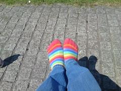 Sunny feet!