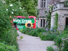 The Big Green Bus at Asthall