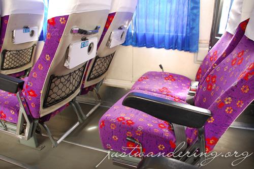 First class bus seats