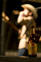 cowboy (richietown) Tags: wedding beer topv111 canon bottle texas bokeh weekend fredericksburg shiner bock 30d 50mm18 hondo hondos richietown addtoimagekind