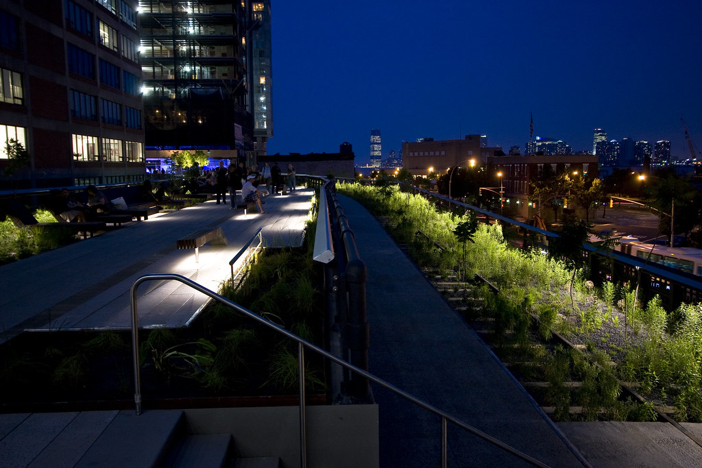 High Line at night