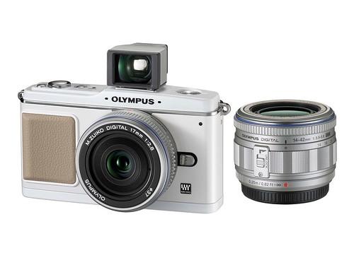 Olympus E-P1 -- White