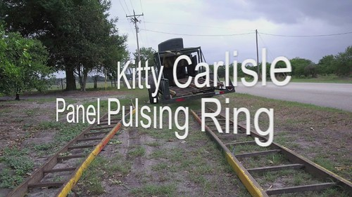 Kitty Carlisle Panel Pulsing Ring