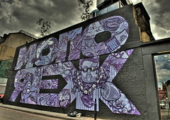 Monorex (Romany WG) Tags: street london art graffiti east crew shoreditch hoxton end aerosol the stika monorex