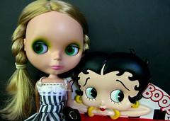 Retro Girls: Greta and Betty Boop