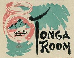 Tonga Room TIKI Hall of Fame (hmdavid) Tags: sanfrancisco vintage restaurant bayarea tiki tongaroom polynesian matchcover