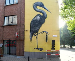 street art Ghent - KrieBeL (_Kriebel_) Tags: street art graffiti belgium belgique belgi ghent gent gand roa kriebel roabot