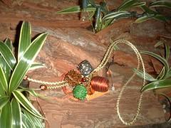 Ref.: ES-227 (Milagrosa Bolsas) Tags: bijoux bijuteria carteira bolsa palha colar chaveiro couro