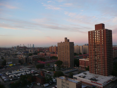 city view from the balcony- facing northeast.