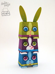 Paper Totem! x Anita Mejia (Dolly Oblong) Tags: paper designer totem custom dolly collect dollies customs designertoy freedownload papertoy dollyoblong anitamejia papertotem