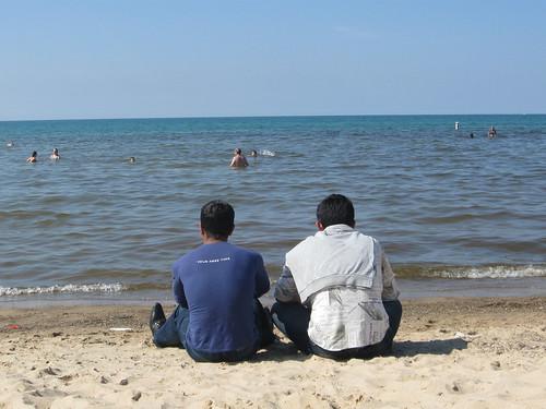 Indiana Dunes of Lake Michigan