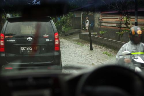 heavy rain in Ubud!