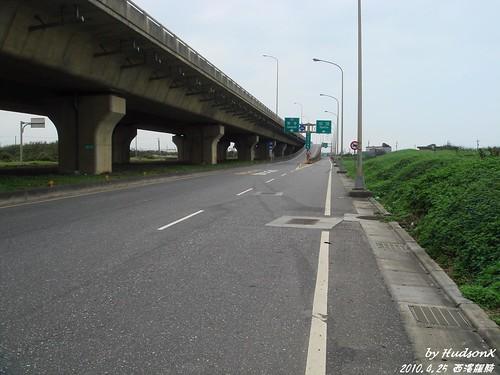 又平又直的西濱快速道路