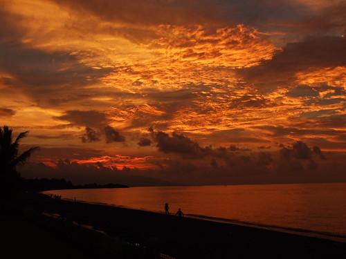 Zonsondergang Bali