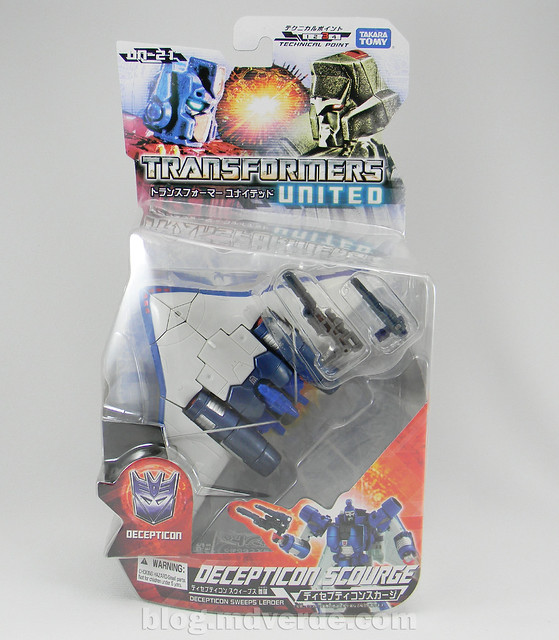 Transformers Scourge United Deluxe - caja