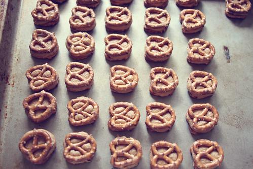 PB pretzel bites