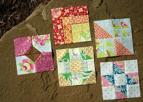 Farmer's Wife Sampler Quilt blocks