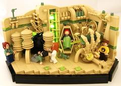 Trapped (Bart De Dobbelaer) Tags: lego space vignette hex