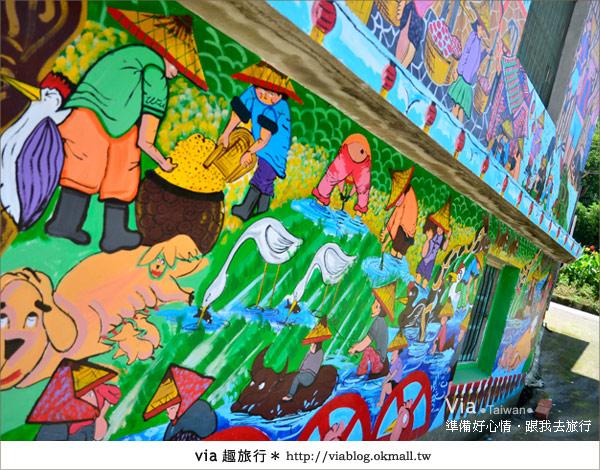 【彩繪客家村】驚豔,彩繪村!新竹竹東鎮軟橋社區尋彩趣37