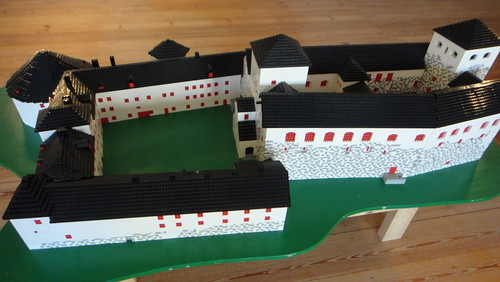 LEGO model of Turku Castle 01, Turku (20110603)